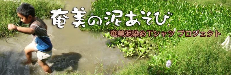 奄美の泥あそび